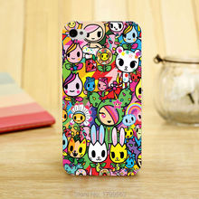 hot Tokidoki released Soft Silicon clear Transparent TPU Skin case for iphone 5 5s 4 4g 4S 5c Retail(China)