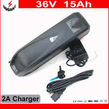 New Arriver 8Fun 36V 15Ah 800W Electric Bicycle Battery 36V With 5V USB 2A Charger Electric Bike Battery 36V For 18650 Cell
