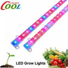 LED Bar Light Grow Light DC12V IP68 Waterproof 5630 Rigid LED Strip for Plant Growing 2pcs/lot