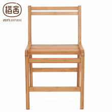 ZEN'S BAMBOO Dining Chair Bamboo Offic Arm Chair Wooden Backrest Chair Dining Room Living Room Home Furniture(China)