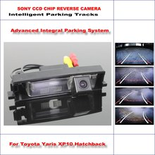 Car Rear Back Up Camera For Toyota Yaris XP10 Hatchback 1998~2005 / Rearview Parking / 580 TV Lines Dynamic Guidance Tragectory