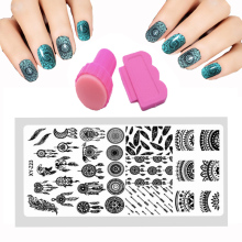 New 12x6cm Nail Printing Stamp 30 Style Nail Stamping Plates Set Lace Flowers Print Steel Plate DIY Knife Nail Art Kits template