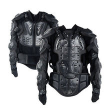 Triclicks Motorcycle Jacket Body Armor Protection Back Body Protector Jackets Motocross Off-Road Spine Chest Brace Gear Guard