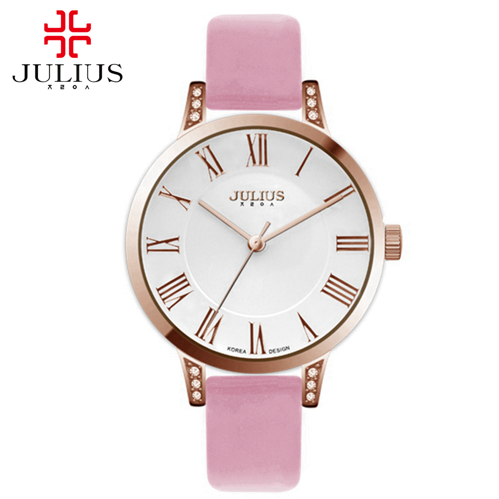 Womens antique wristwatches women leather watches fashion casual Miyota quartz watch Hot Julius 740 clock gift 3 ATM waterproof<br><br>Aliexpress