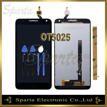 For Alcatel One Touch Pop 3 5.5 OT5025 5025 LCD Display Screen With Touch Panel Digitizer Sensor+3M Sticker+Tools+Track