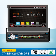 "7"" Quad Core Android 6.0 OS 1 Din Car DVD Single Din Car Radio One Din Car Navigation with 1024*600 Resolution & Mirror Link"