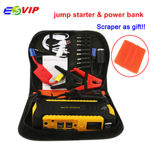 New Portable jump Starter 16000mah Car Jump Starter 4usb Power bank Battery for Mobile Phone Laptop Socket Adaptor