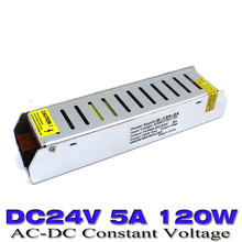 switching Switch Power Supply DC 24v 5A 120W Voltage Transformer 100-240V AC to dc 24v UPS Led driver for Led Strip Light CNC