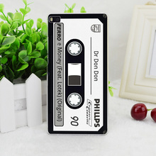 A0981Sm Cassette Audio Tape Transparent Hard Thin Skin Case Cover For Huawei P 6 7 8 9 Lite Plus Honor 6 7 4C 4X G7