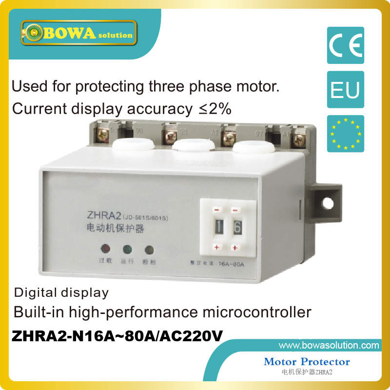 Motor Protector against  three phase 16A~80A motor of mechanical euipments<br>