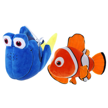 1pc 20cm Finding Nemo plush toys, Nemo and Dory fish Stuffed Animal Soft Plush Toy for baby gift(China)