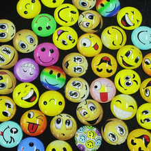 25mm Glass Material Mixed Smiling Face Round Glass Dome Cabochon Jewelry Necklace Pendant Bracelet Earrings Glass Accessories