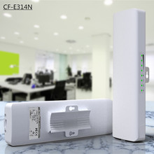 COMFAST CF-E314N 300Mbps High Power Outdoor Wireless AP/CPE Bridge with Panel Antenna 14dBi High Gain Wifi antenna Receiver 2KM