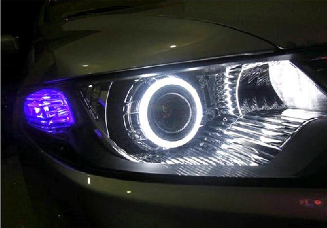 Auto modified LED lamp 85mm Car Cob Angel Eyes Halo Ring Headlight DRL Decorative Light Universal for car recreation BMW Audi<br><br>Aliexpress
