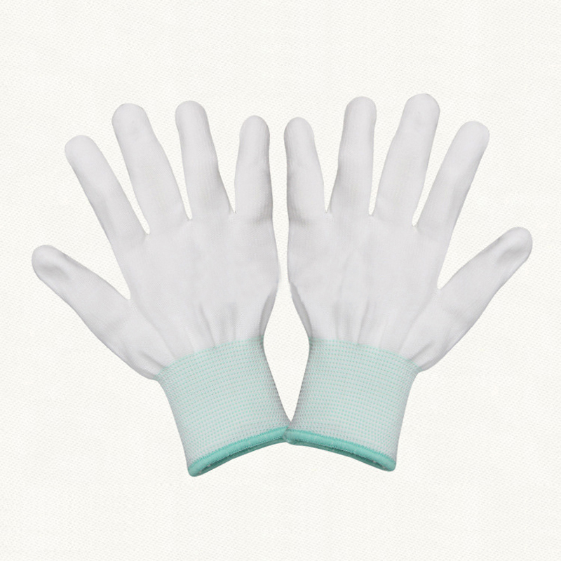 Safety Gloves PU Protective Antistatic Gloves Anti Static ESD Electronic Working Gloves PC Antiskid for Finger Protection