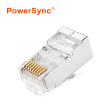 8Pin RJ45 Modular Plugs Socket Network Ethernet Crystal Plug RJ45 Connector Adapter for Cat7 Cable Plugs
