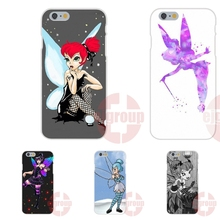goth tinkerbell Soft TPU Silicon Print Cover Case For HTC Desire 530 626 628 630 816 820 830 For Samsung Galaxy Note II 3 4 5