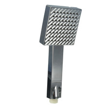 Square Fixed Shower Head Water-Saving Handset High Pressure Hand Held Chrome Bathroom Shower head