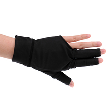 Billiard Pool Shooters Stretchable 3 Finger Snooker Billiard Pool Cue Glove for Right-Hand Shooters Quality Billiard Accessories(China)