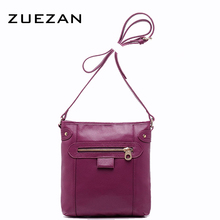 3 Color NEW Vertical Girls Summer Fashion Women GENUINE LEATHER Shoulder Bag TOP Layer Cowhide Crossbody bags Calfskin Bag A156(China)