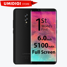 "UMIDIGI S2 P20 6.0"" 5100Mah Battery Smartphone 4GB RAM 64GB ROM 1440x720P Dual Camera New Brand Mobile Phone(China)"