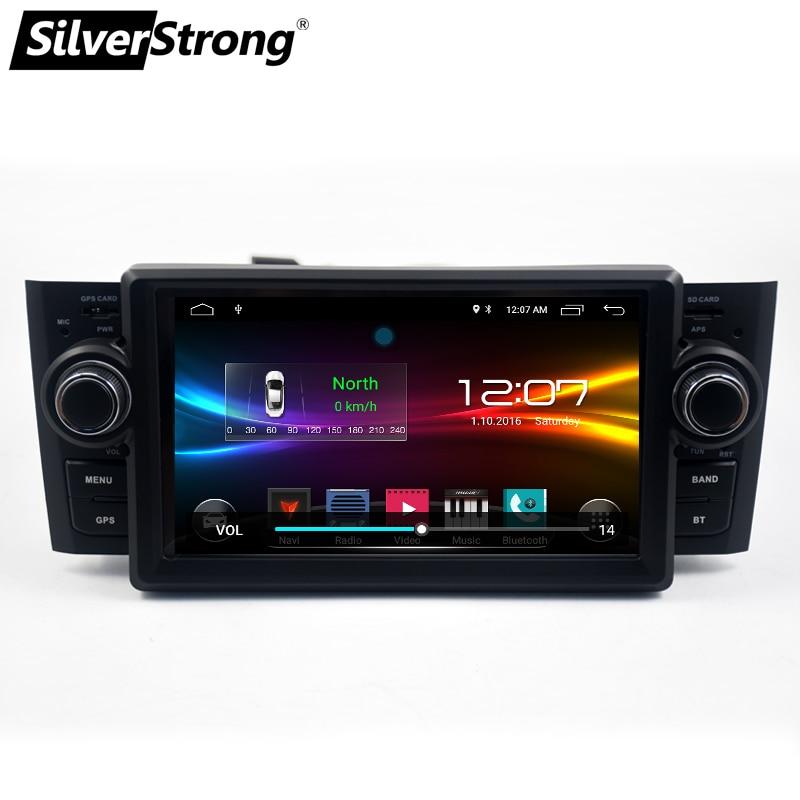 Car Multimedia player GPS Android 7.1.1 Car Radio 1 Din DVD Automotivo For FiatGrandePuntoLinea 2007-2012 Radio FM DSP touch