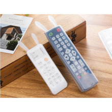 Cute Rabbit Silicone TV Remote Control Cover Air Condition Control Case Waterproof Dust Protective Storage Bag Organizer