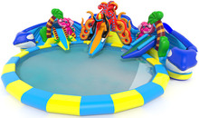 (China Guangzhou) manufacturers selling inflatable slides, Pool slides COB-94