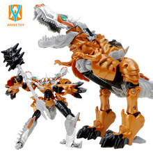 Best selling 2017 Transformation Robot Cars Toys Cool Classic Toys Anime action figures Toys gift for childrens Free Shipping(China)