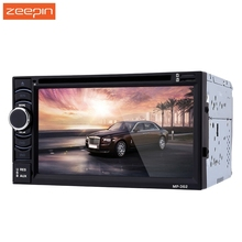 New 2 Din 1080P Car MP5 Player Bluetooth 6.2 inch digital TFT Touch Screen 12V Remote Control Car Audio Stere DVD Player