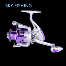 Fishing Spinning Reel 8BB Ball Bearings Left Right Interchangeable Collapsible Handle Fish Wheel FA2000 5.2:1