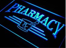ph07 Pharmacy Compounding RX Shop NEW LED Neon Light Sign vintage home decor Wholeselling Dropshipper(China)