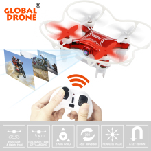 Global Drone GW009C-1 Mini Drone with camera Altitude Holder RC Quadcopter Headless Mode Helicopter with HD Camera VS H36 JY018(China)