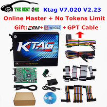2017 New Ktag V7.020 V2.23 Online Master Version No Token K Tag 7.020 K-Tag ECU Programming Tool For Car Truck ECU Programming