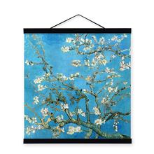 Modern Impressionism Vincent Van Gogh Famous Almond Blossom Flower Art Prints Poster Wall Picture Canvas Oil Painting Home Decor