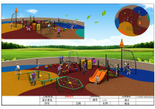 Exported to Vietnam Direct Factory Outdoor Gym Training Playground Outdoor Playground KX06(China)