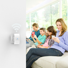 Wall wifi Repeater Mounted Wireless Range Extender Signal Booster Support Access Point AP / Repeater Mode 2.4GHz 300Mbps