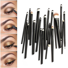 20 pcs Makeup brushes Pro hair eyebrow foundation brush pen cleaner sets Cosmetic maquiagem make up brush set Blusher cosmetics(China)