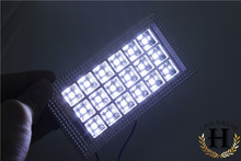 Wholesale cheap Hot Sale White 36 LED Car Vehicle Auto Interior Lights Dome Ceiling Roof Lamp Bulb DC12V  for Benz AMG