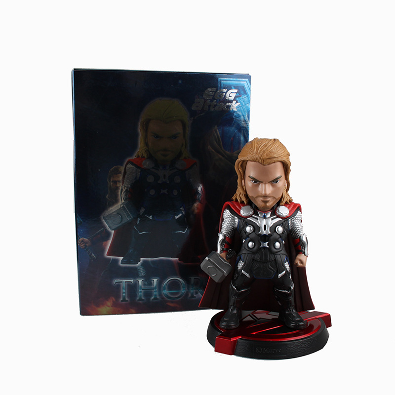 Boy Favorites Toys Egg Attack Avengers 2 Age of Ultron Superheros Thor PVC Action Figure Collectible Model Kids Toys Doll 20cm<br>