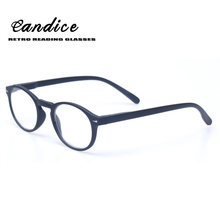 Classical Retro Round Frame Reading Glasses Wood-Look Men and Women Spring Hinge Presbyopia Glasses Diopter Eyeglasses