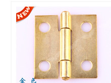 Hardware supplies Hinges Furniture Accessories Jewelry Boxes Hinge Furniture Fittings Copper plated hinges(China)
