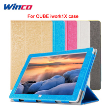 High Quality Case for 11.6 inch Cube Iwork1X Tablet PC Fashion PU Leather Case Stand For Cube iwork 1X Cover Case