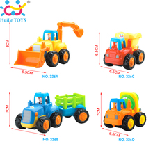 Buy 4pcs/lot Engineering Vehicles Kids Beach Toy Pull Back Cars Baby Playing Toys Sand Tools Gifts Disassembly Assembly Classic Car for $18.90 in AliExpress store