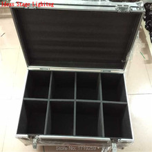 Flight Case with 8 pieces Quick Shipment new led spot moving head light 30w 8/11 channels dmx stage light in stock