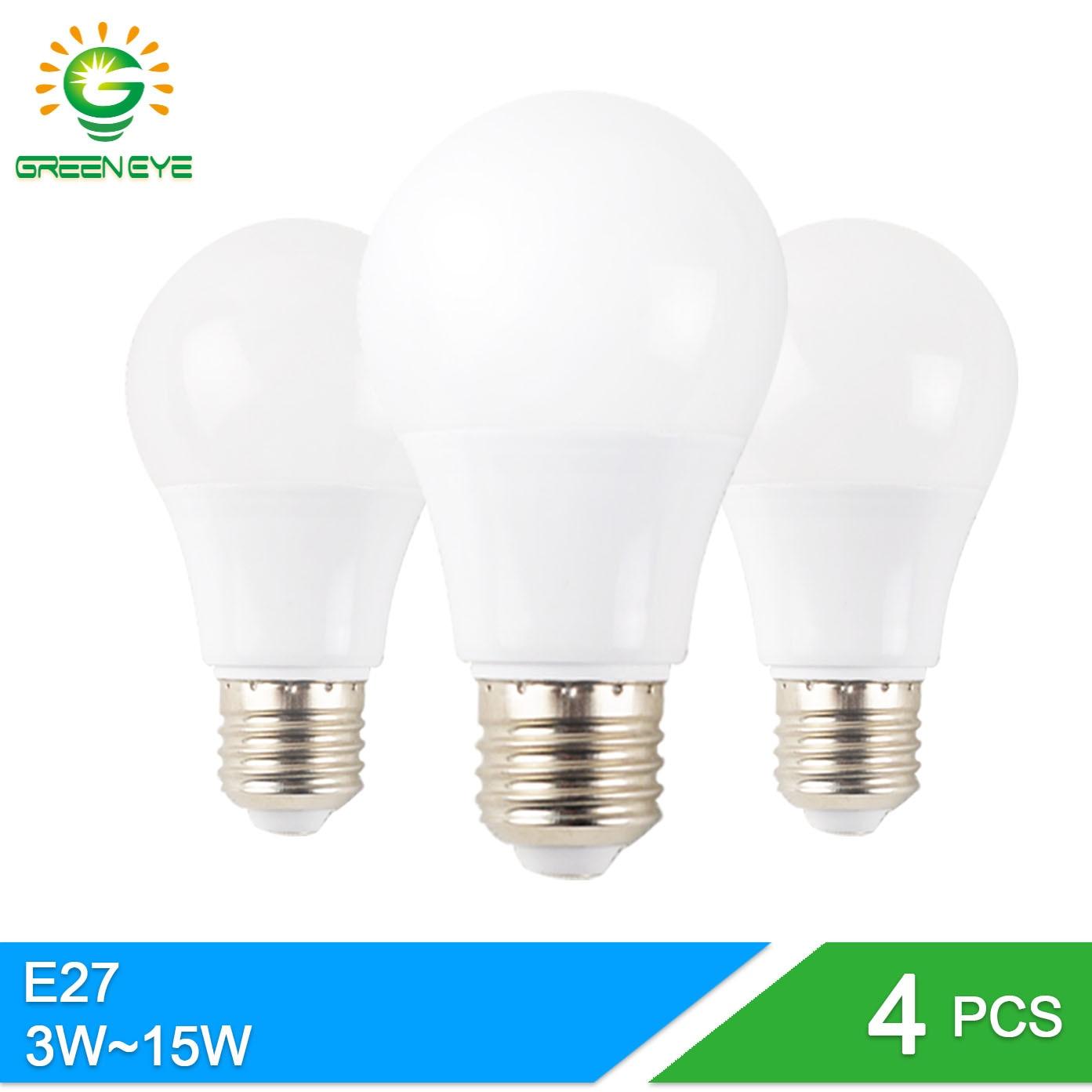 GreenEye-4pcs-High-Grade-A-font-b-Led-b-font-font-b-Bulb-b-font-E27 Spannende Gu10 Led 1 Watt Dekorationen