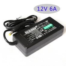Led switching power supply AC100-220V DC adapter 12V 6A 72W Table type  Led Strips transforme adapter