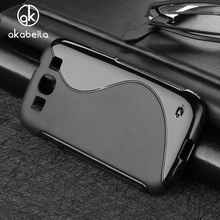 Cases For Samsung S3 Cover I9300 Galaxy S III LTE I9305 I9308 I747 T999 Cell Phone Bags Black Soft TPU Silicon Skin Housing