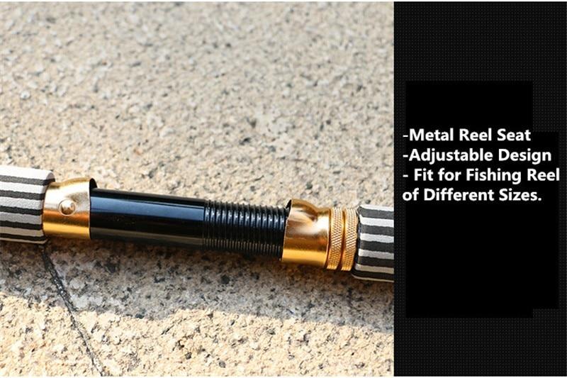 Mini Portable Telescopic Fishing Rod 90% Carbon Fiber Sea Fishing Pole High Quality Sea Fishing Rod 1.3M 1.8M 2.4M 3 (6)