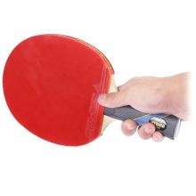 Table Tennis Rackets Pimples-in Rubber Bat for Fast Attack Type Player 7 Layers Pure Wood  Ergonomic Handle Table Tennis Paddle